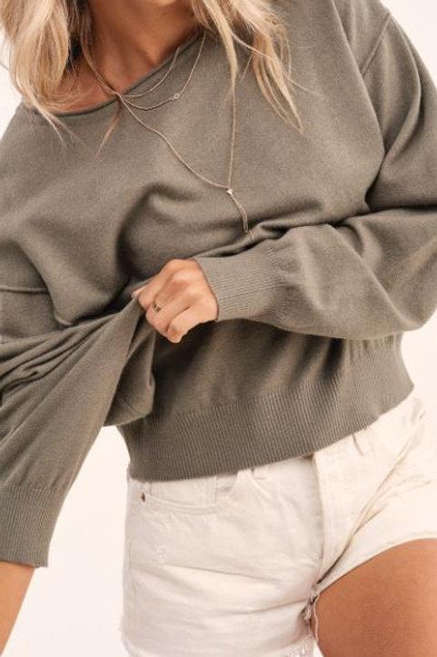 Lori Off Shoulder Sweater