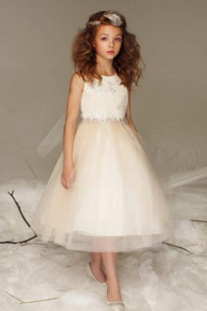 Silk Champagne Dress