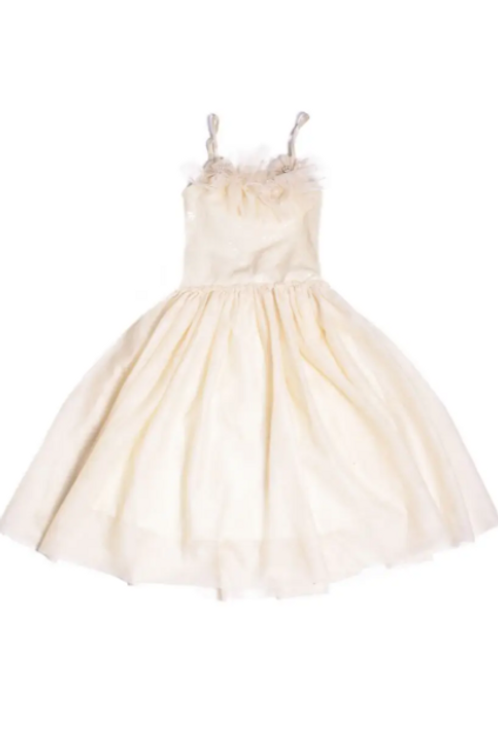 Giselle Cream Dress
