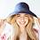 Thumbnail: Reversible Wide Brim Canvas Sun Hat