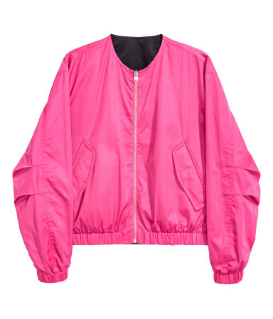 Bomber Jacket, pink, H&M
