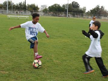 Kids Soccer Clinic A Success - Rain Or Shine!