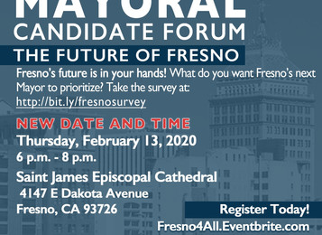 #Fresno4All Mayoral Forum