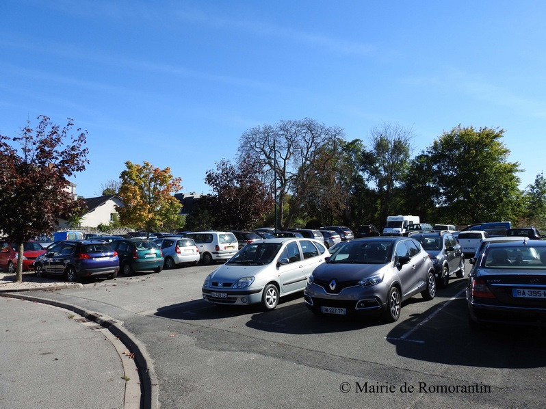 Parking de la Fosse aux Lions