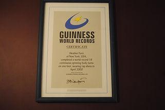 Guinness World Record Holder Dance