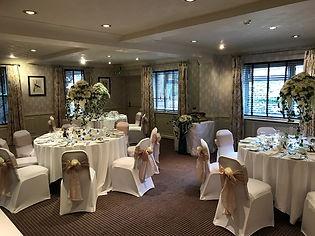 A wedding room