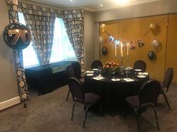 Venetian Room 70th Birthday Party