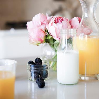 healthy breakfast protein shake