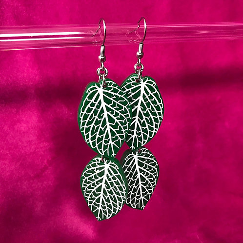 MADE TO ORDER Fittonia (Nerve Plant) - Hooks