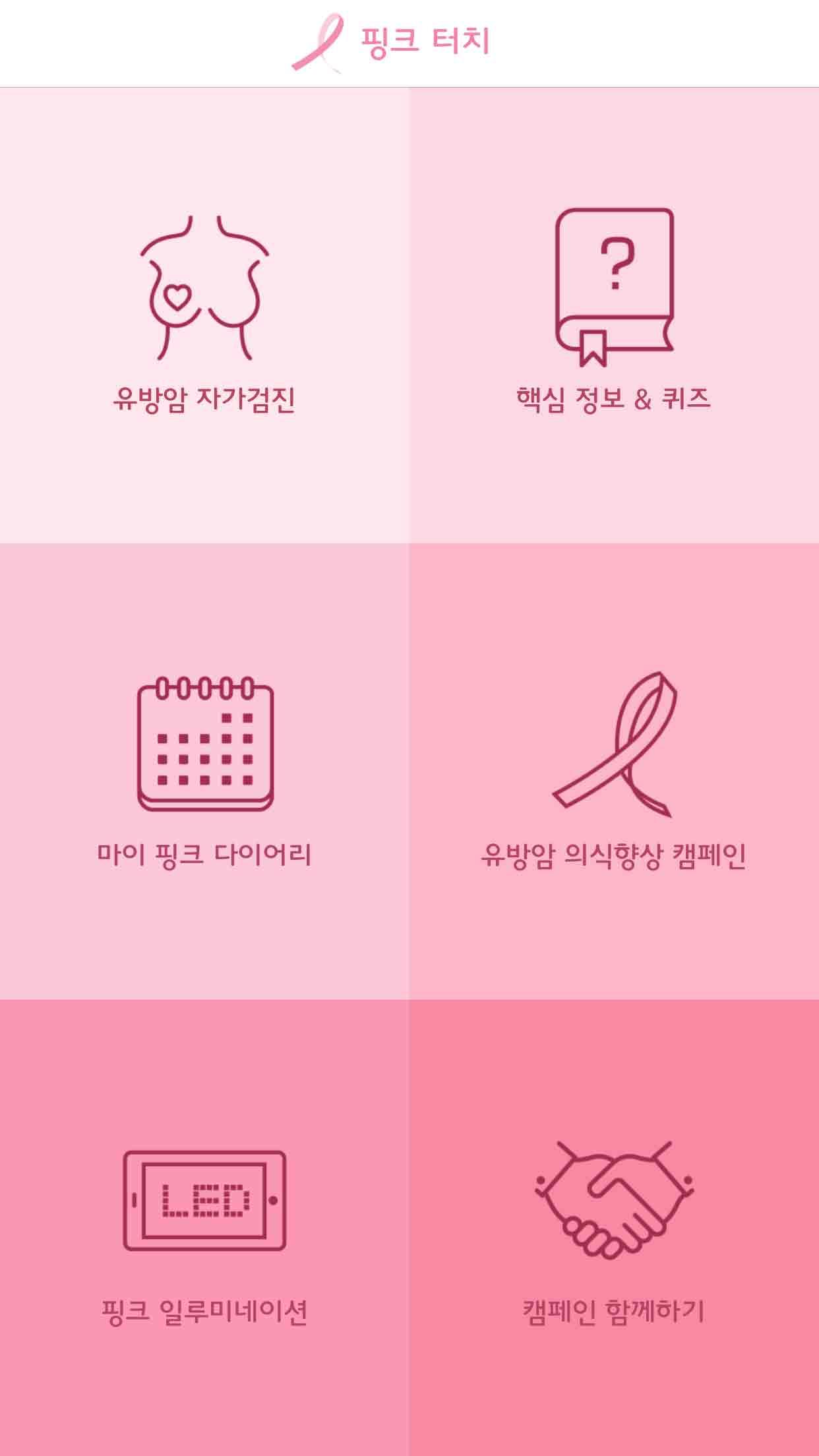 핑크터치 서비스소개