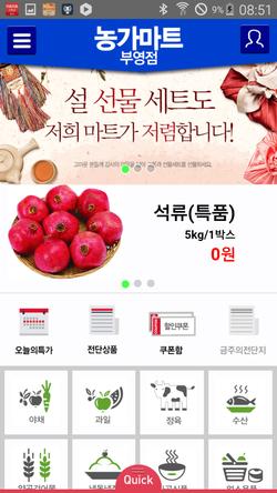 마트천국 석류 1박스
