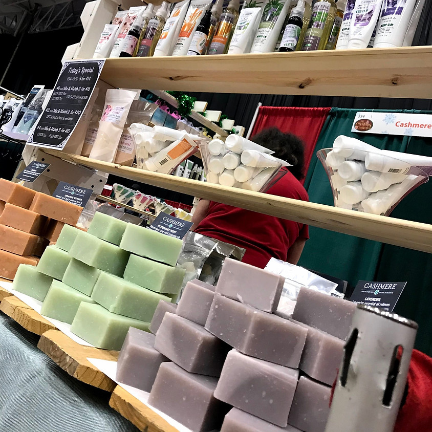 Beginner Soap Making Class by Cashmere Bath!!