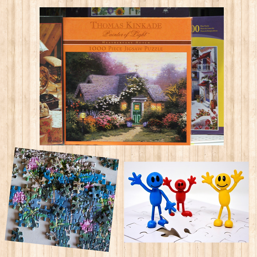 Jigsaw Puzzle Swap & Sip!