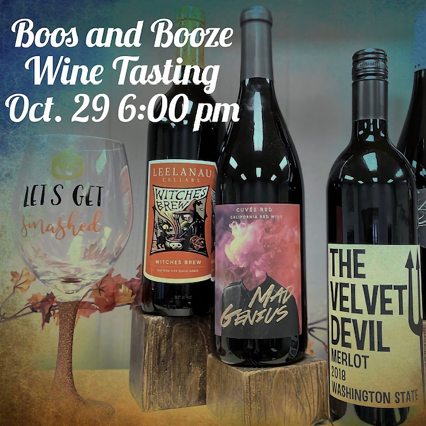 Wine Tasting - BOOs  & Booze