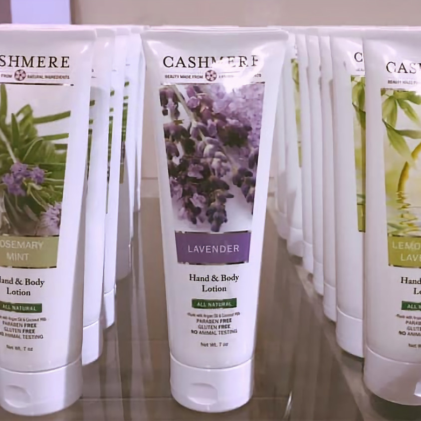 Make your own Lotion by Cashmere Bath!!