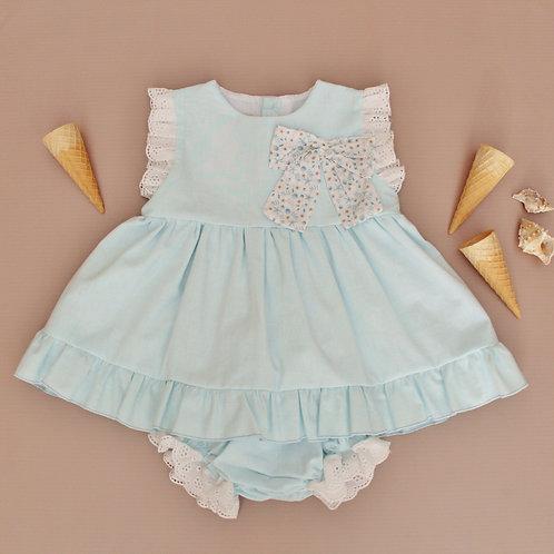 Aqua Dress Set