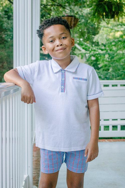 Washington Collared Shirt Set