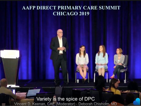 Dr Ryan talks DPC on the national conference stage this week