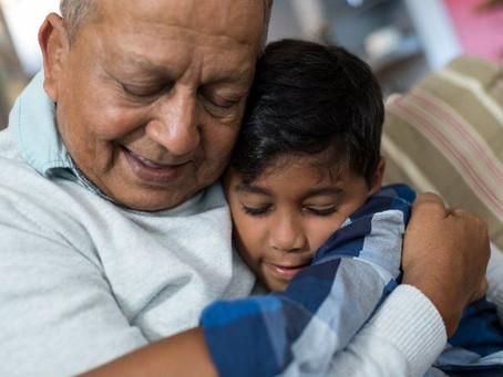 Hug your grandchildren again!
