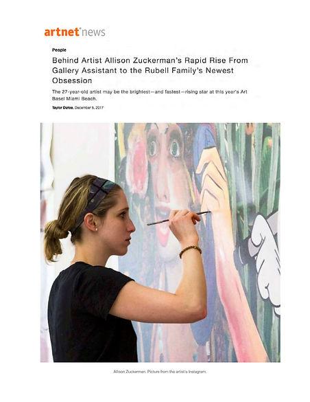 Allison Zuckerman Artnet News 12-17.jpg