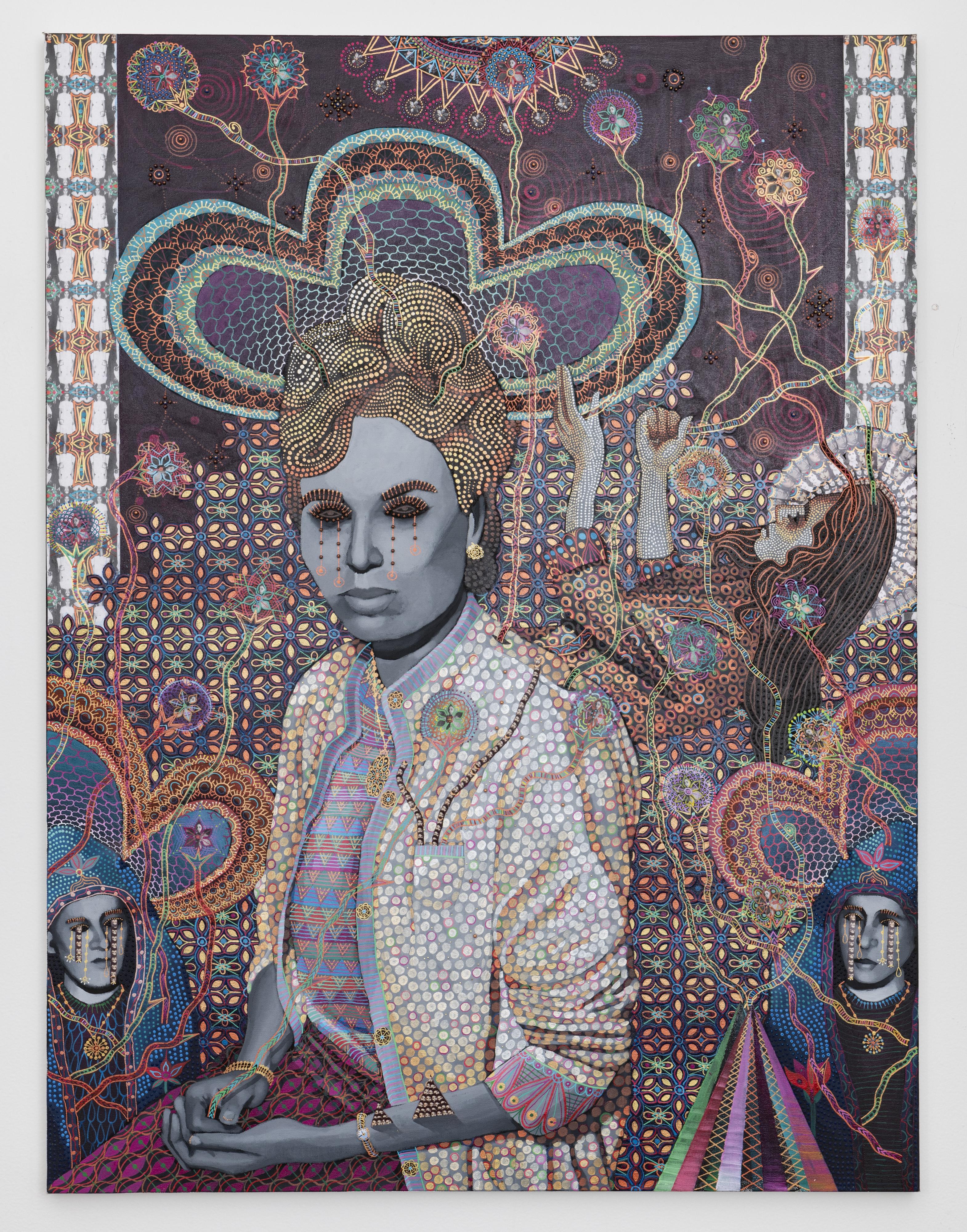 Les Femmes D'Alger #87, 2020