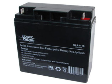 Battery - 12V 18AH NB