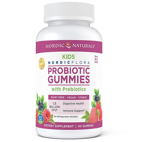 Kids Nordic Flora Probiotic Gummies