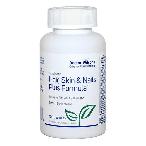 Hair, Skin and Nails Plus Formula
