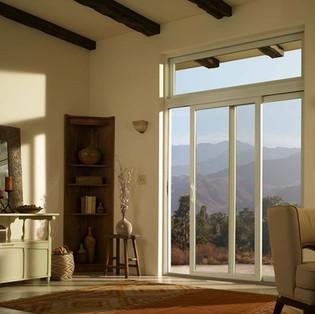 AW Puerta corrediza y ventana superior