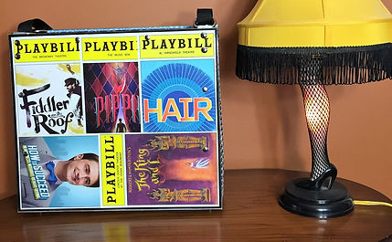 Playbill Fiddler on the Roof Pippin Hair How   to Succeed The King and I Tote as Home Decor
