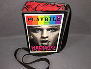 Hedwig and the Angry Inch full front Playbill handbag purse with strap