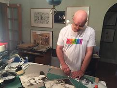 Ray Ruggeri creating