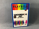 GROUNDHOG DAY PLAYBILL HANDBAG