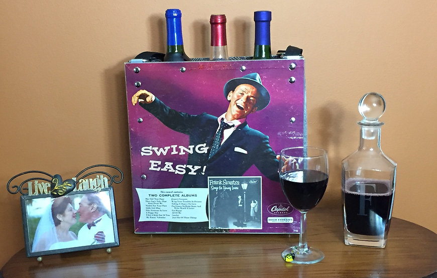 Frank Sinatra Swing Easy Tote as Home Decor