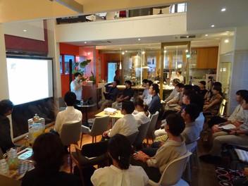「建築家/米澤隆さんとのデザイナーズミーティング」レクチャーイベント