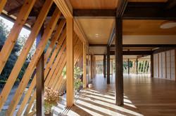 建築写真041_斜め格子の農家住宅-築150年の古民家の再生-
