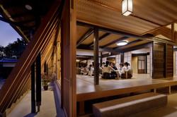 建築写真028_斜め格子の農家住宅-築150年の古民家の再生-