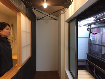 京都御所西の町家