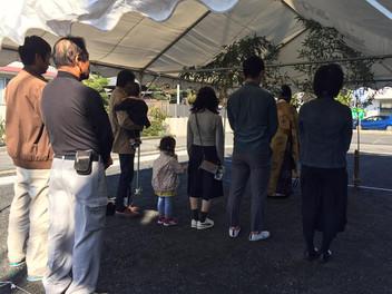 静岡の家 地鎮祭