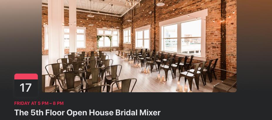 5th Floor Bridal Mixer