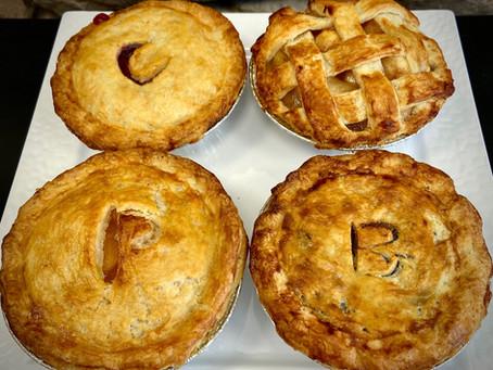 Pies, Pies, we've got Pies!