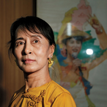 The Lady Will See You in Myanmar as Suu Kyi Shows Land Besieged