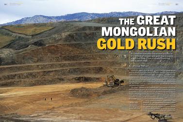The Great Mongolian Gold Rush