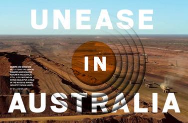 Unease In Australia