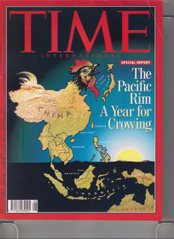 Time Magazine Cover Story on Asia
