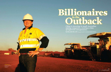 Billionaires in the Outback