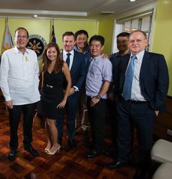 President Aquino of the Philippines