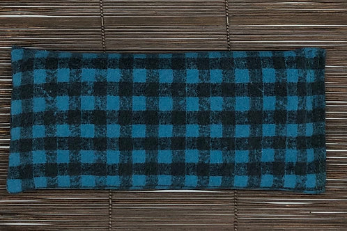 Soothing Heat Pad - Flannel- Rice and Flaxseed - Banjo Blue
