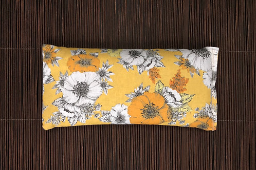 Soothing Heat Pad - Rice and Flaxseed- Antique Blossoms
