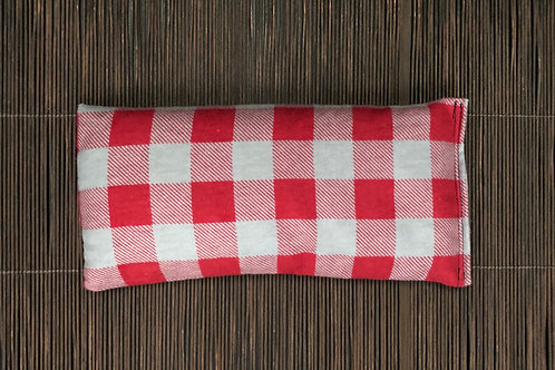 Soothing Heat Pad - Flannel- Three Sizes- Red and Gray Plaid